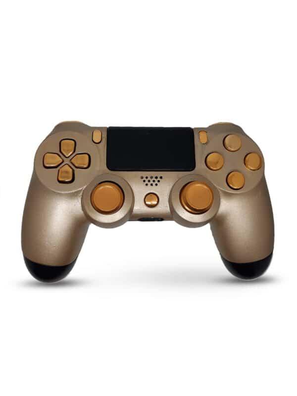 mando personalizado dorado